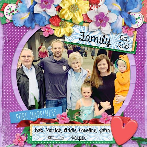 Bob, Addie, Patrick and family
