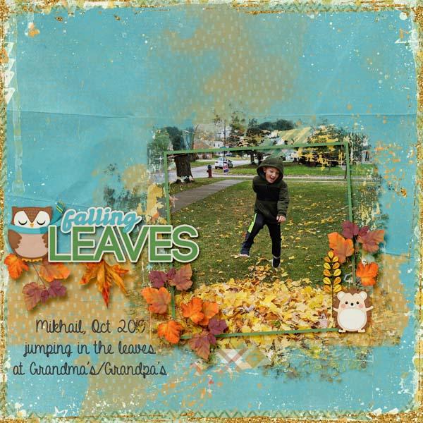 Mikhail loves the leaves