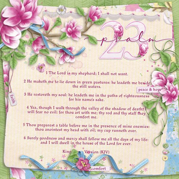 Magnolius - Psalm 23
