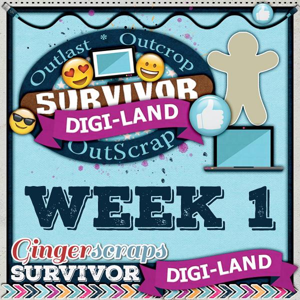 Survivor Digi-Land {Week 1}