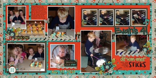 Evan's 4!