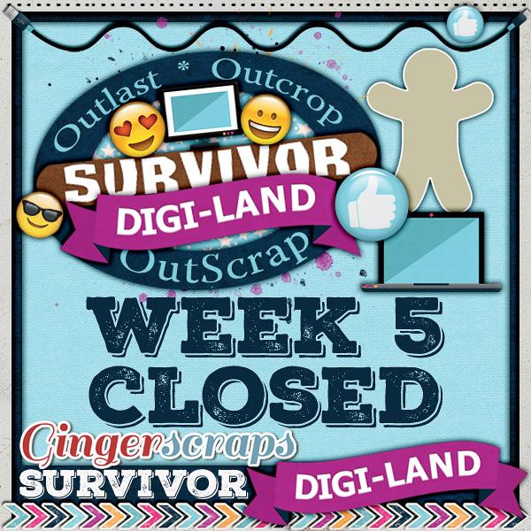 Week Five (CLOSED)