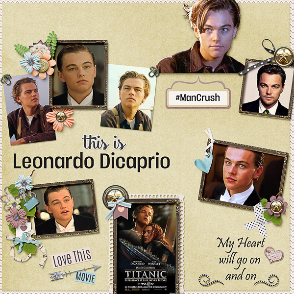 Man Crush is Leonardo Dicaprio