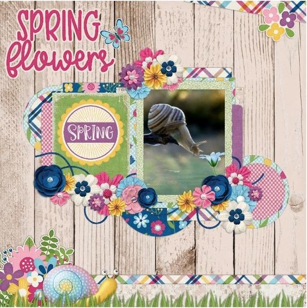 April flowers, April color chall