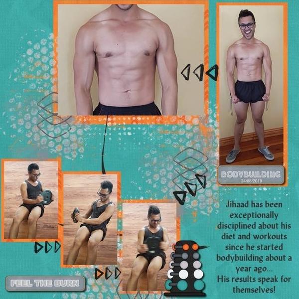 Bodybuilding feel the burn