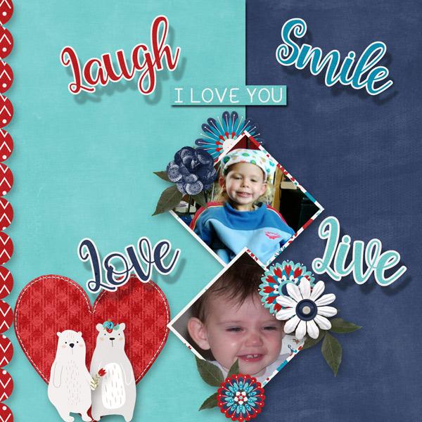 Laugh, Love, Smile, Live