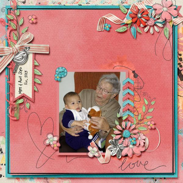 Mirii & aunt Jopie