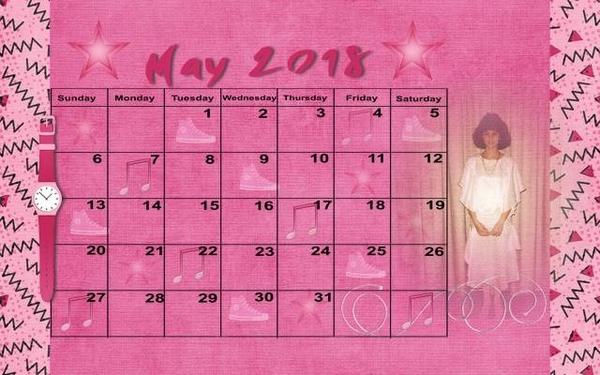 201805 Calendar