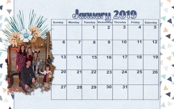 201901 Calendar