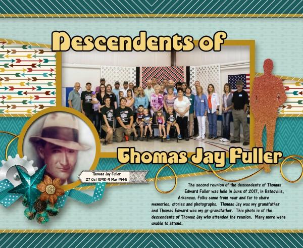 Descendents of Thomas Jay Fuller