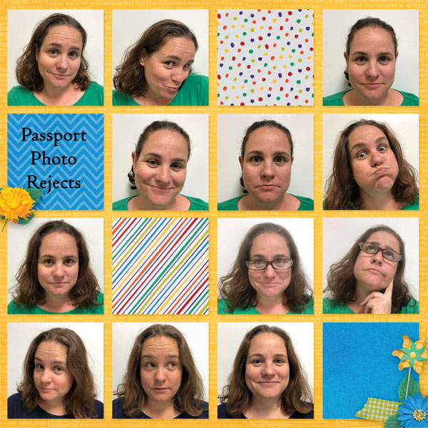 Passport Photo Rejects