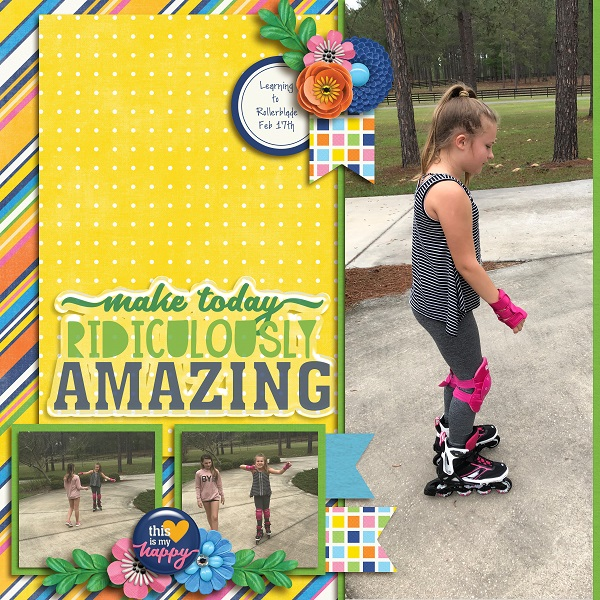 Learning to Rollerblade