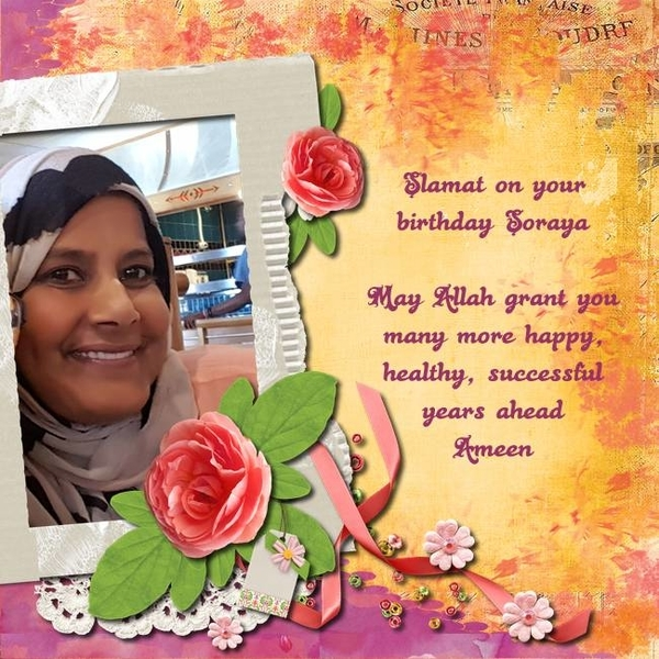 Happy Birthday Soraya