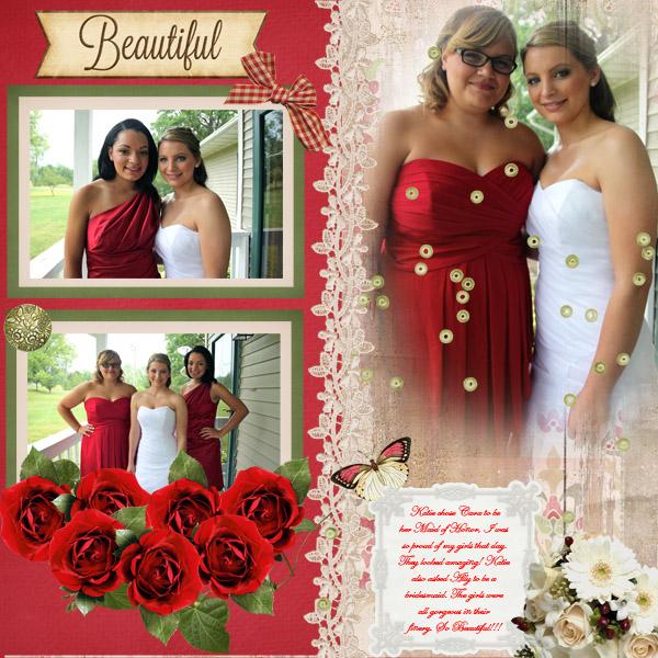 Katie and Bridesmaids