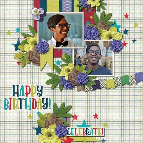 Happy Birthday Celebrate