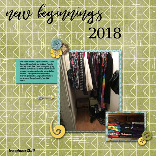 New Beginnnings 2018