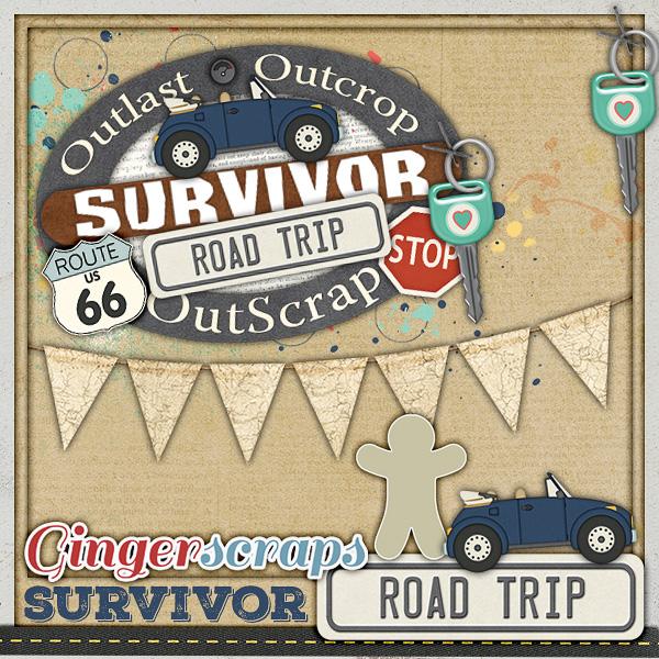 Scrapping Survivor 8 *Road Trip*
