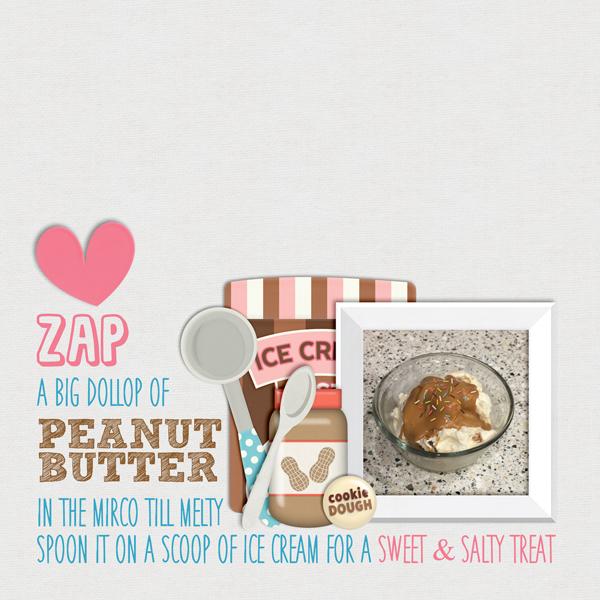 Peanut Butter Ice Cream Time